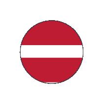 Flag Latvia Siklos®